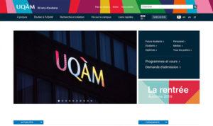 Site UQAM.ca