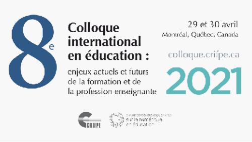 Colloque CRIFPE 2021