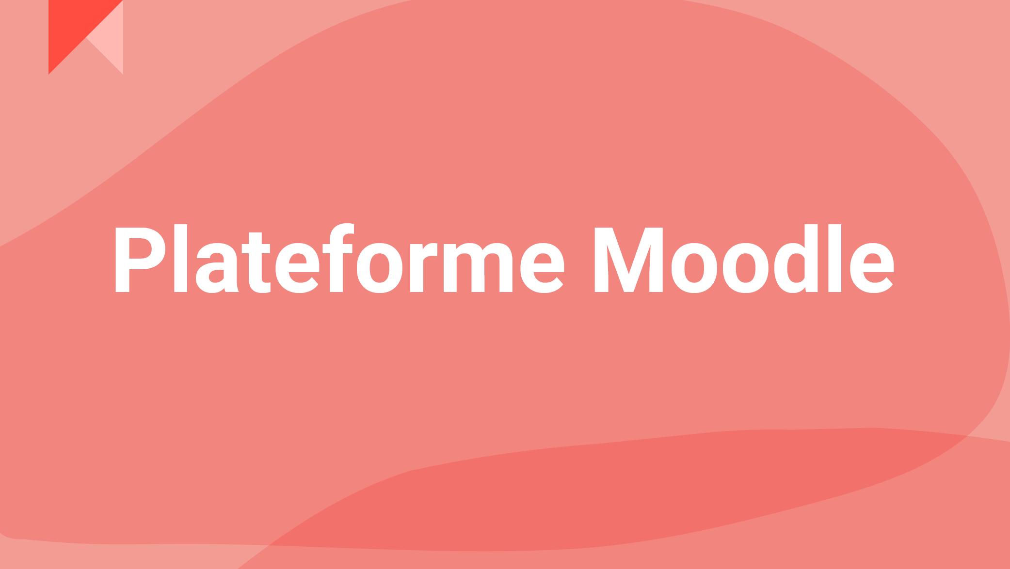 Plateforme Moodle