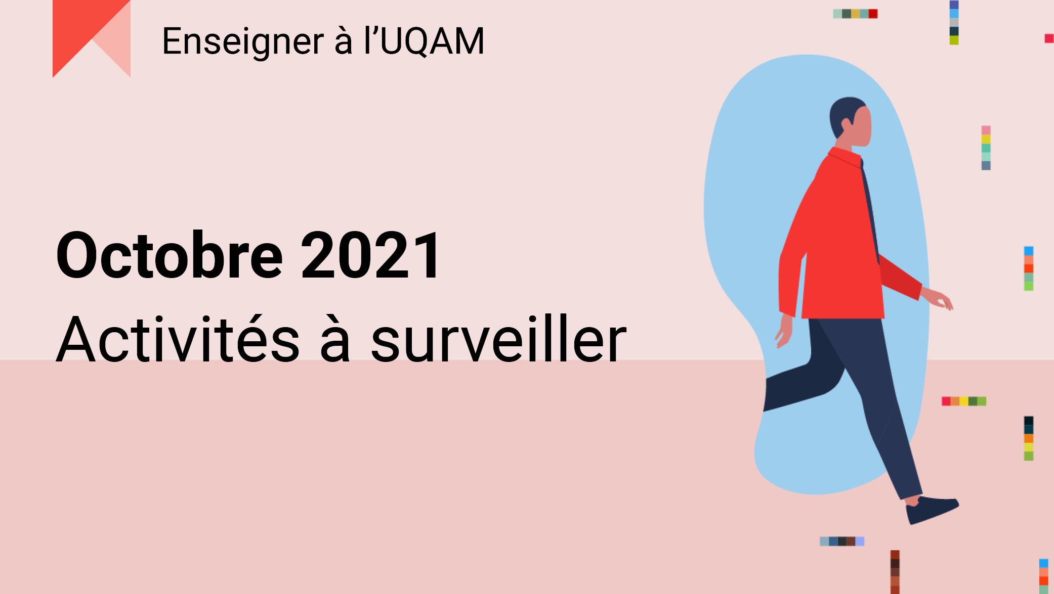 Octobre 2021 : Activités à surveiller